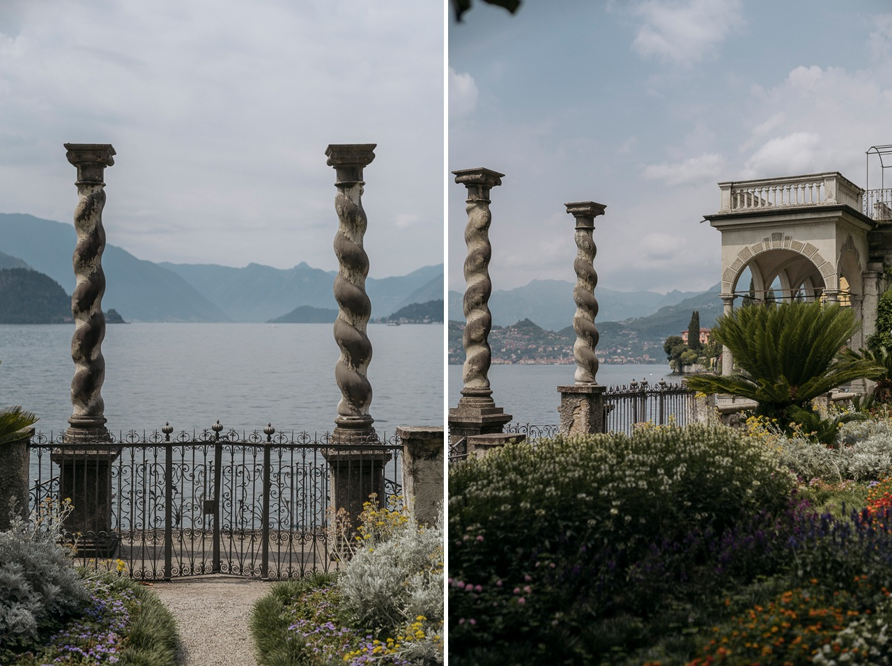 Varenna lago di Como villa Monastero giardino Italia matrimoni