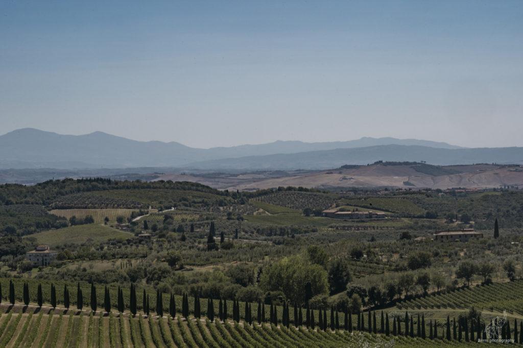 breathtaking Tuscany's landscape